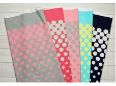 "ZKC2334 Cotton ""Gradation Polka Dot"""
