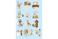 Rw207C Iron On Sticker *Zakka Life*