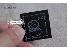 Rw207A Iron On Sticker *Girl Diary*