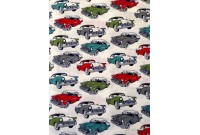 C2981 Designer Brand Cotton *Vintage Car*