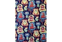 "C2986 Designer Brand Cotton""Monster Boo"""