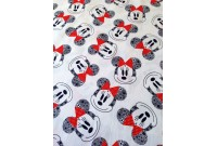 C2988 Designer Brand Cotton *Minnie Head Toss*