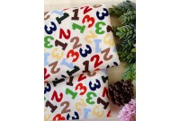 ZC2991 Designer Brand Cotton *Jungle 1,2,3 Numbers Toss*
