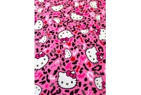 "ZC3000 Designer Brand Cotton ""Hello Kitty Cheetah Toss"""