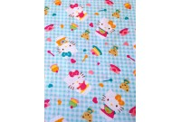 "C3006 Designer Brand Cotton ""Kitty Tea Party Gingham"""
