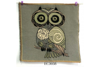 "EC3038 Embroidery stitches Canvas""Rose's Owl"""