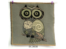 """EC3038 Embroidery stitches Canvas""""Rose's Owl"""""""
