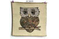 "EC3039 Embroidery stitches Canvas""Glamour Owl"""