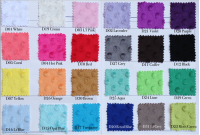 Preorder2274 Soft  Minky Dot Fabric