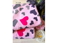 "NC3046 Jersey Knit Cotton""Multiple Love"""