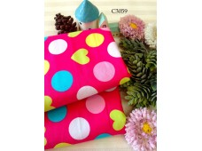C3059 Cotton *Love & Dots*