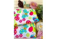 ZC3061 Cotton *Cutes Bugs& Butterflies*
