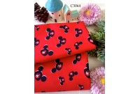 C3064 Cotton *Red Mickey Frame*