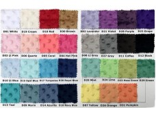 2274 B Soft Minky Dot Fabric