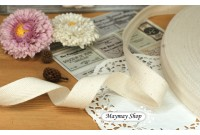 L83 Natural Plain cotton Tape / Bias Tape