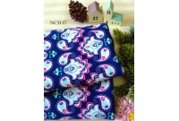 "NC3117 Jersey Knit Cotton""Paisley Blue"""