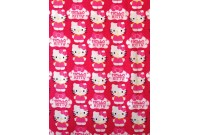 "C3136 Designer Brand Cotton""Hello Kitty Cupcake Logo"""