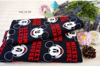 "ZNC3139 Jersey Knit Cotton""Mickey Mouse Face"""