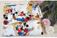 "C3151 Designer Brand Cotton ""Mickey Club House"""