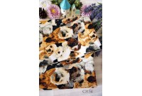 "C3154 Designer Brand Cotton ""Dog Face Pet"""
