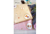 "JPC3173 Cotton Fabric""Sunbonnet Sue Stripe"""