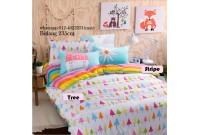 GB0610 Group Buy Tree & colourful Stripe cotton