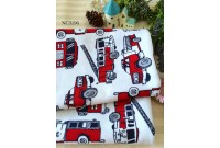 "NC3196 Jersey Knit Cotton""Red Fire Rescue Truck"""