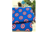 "NC3199 Jersey Knit Cotton""Captain America Shield Toss"""
