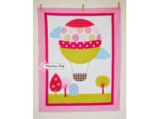 C2350 Designer Brand Cotton*Hot Air Balloon*