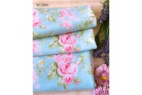 "NC3204 Jersey Knit Cotton""Chic Bunch Rose's"""