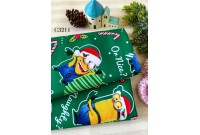 "C3211 Designer Brand Cotton ""Despicable Me Christmas Minions"""