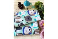 "C3215 Designer Brand Cotton ""Cute Doggy Face"""