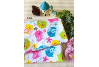 "C3221 Designer Brand Cotton ""Colourful Birdie"""