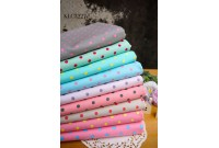 KLC3227 Light Canvas*Pastel Colourful Dot*