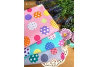 KLC3229 Light Canvas*Candy Colourful Dot*