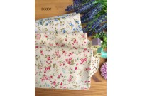 LC837 Blended Linen Cotton*Chic Tiny Blossom*