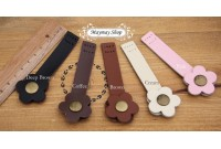 RW17 Leather button snap(9cm)