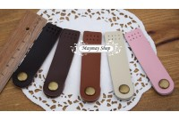 RW20 Leather Button Snap (plain)