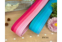 RW101 Colourful Tone Thick Webbing