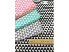 BC3240 Twill Cotton *4 Colour Triangle*