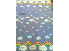 BC3241 Twill Cotton *Rainbow Cloud*