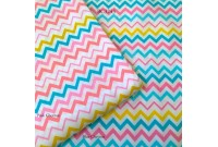 BC3243 Twill Cotton *Mixed Colour Chevron*