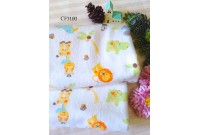 "CF3100 Cotton Flannel ""Happy Jungle Life""(Defect)"