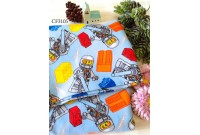 "CF3105 Cotton Flannel ""Lego Astronaut"""