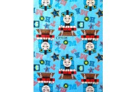 "CF3108 Cotton Flannel ""Thomas Train"""