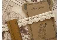 L57 linen Cotton Lace (Clouds A Like)