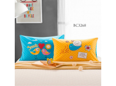 BC3268 Twill Cotton Panel*Spring Birdie & Snail*