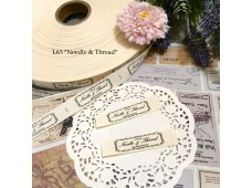 L63 Printed Cotton Tape *Needle & Thread*