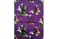 "ZC3289 Designer Brand Cotton ""NightMare Before Christmas"""