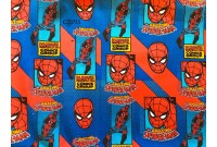 "C3293 Designer Brand Cotton ""Marvel SpiderMan""(Defect)"